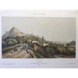 France en Miniature, Hyères, Vue générale prise du gazomètre