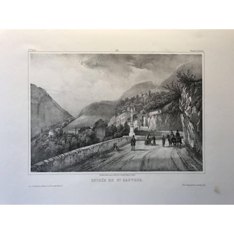Entrée de Saint Sauveur, Jacottet, 1840