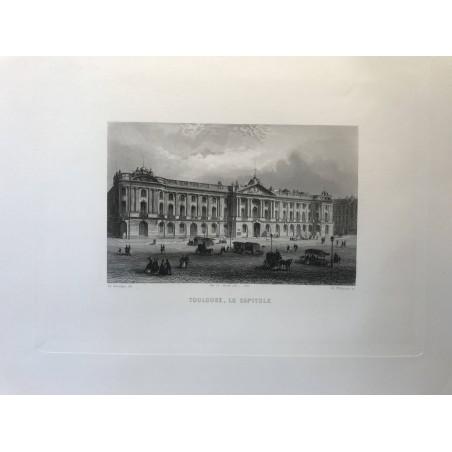 Toulouse, le Capitole, Rouargue