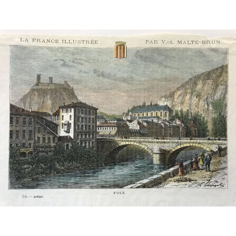 Foix, La France illustrée