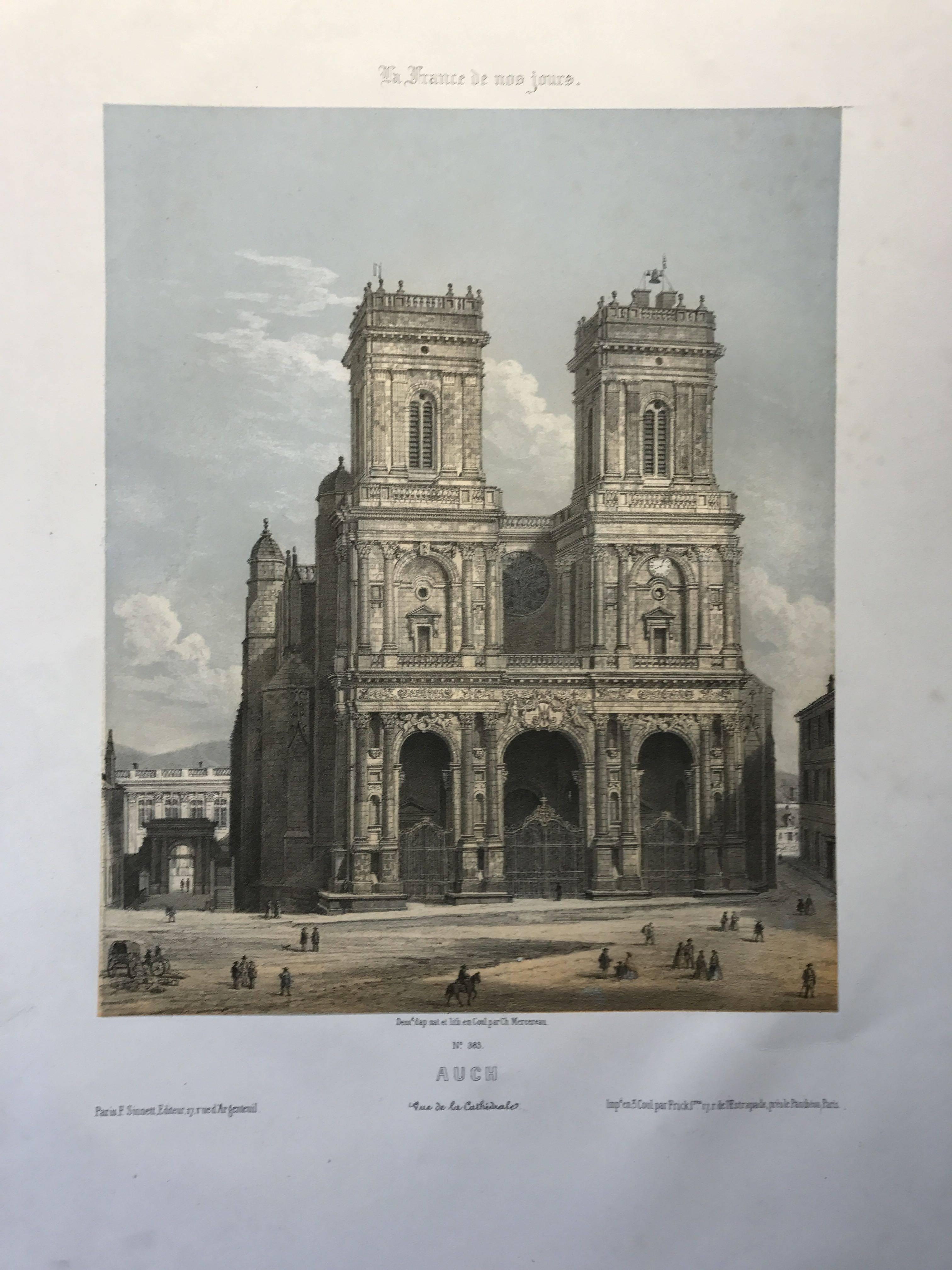 Auch, La france de nos jours, 1855