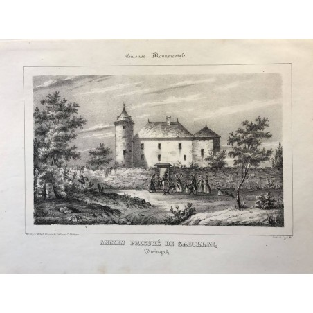 Guienne Monumentale, Ancien prieuré de Sadillan (Dordogne)