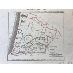 Département des Landes, Chanlaire, 1805