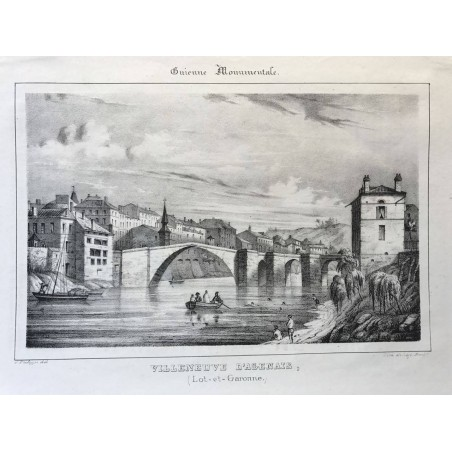Guienne Monumentale, Villeneuve l' Agenais, Lot et garonne