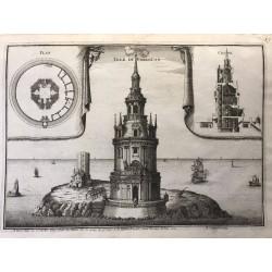 tour de Cordouan, nicolas de Fer, 1705