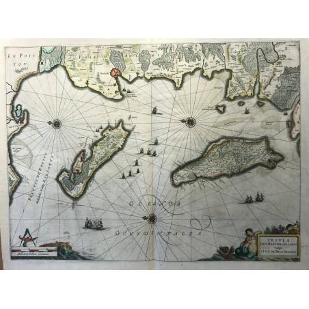Jansonnius, 1653, Ile de Ré et Oléron