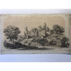 Paysage signé Leseble 1822