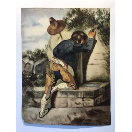 L'homme à la fontaine