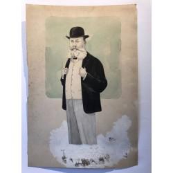 L' élégant, M Ribar 1901