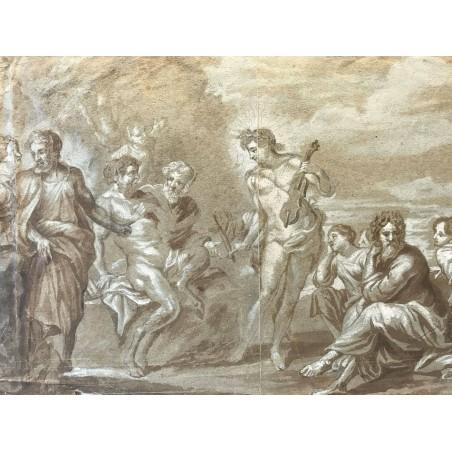 Appolon et Marsyas, d' après Lebrun