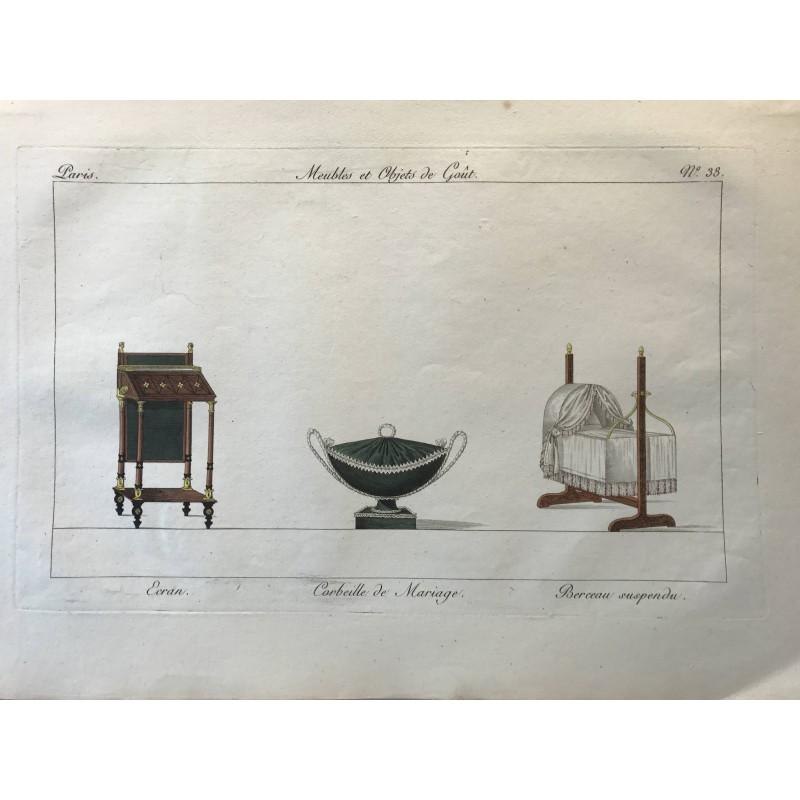 Meubles et objets de goût, Pierre de La mésangère