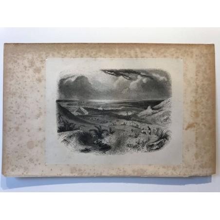 Vue de la ville de Port Louis, Ile Maurice,1838
