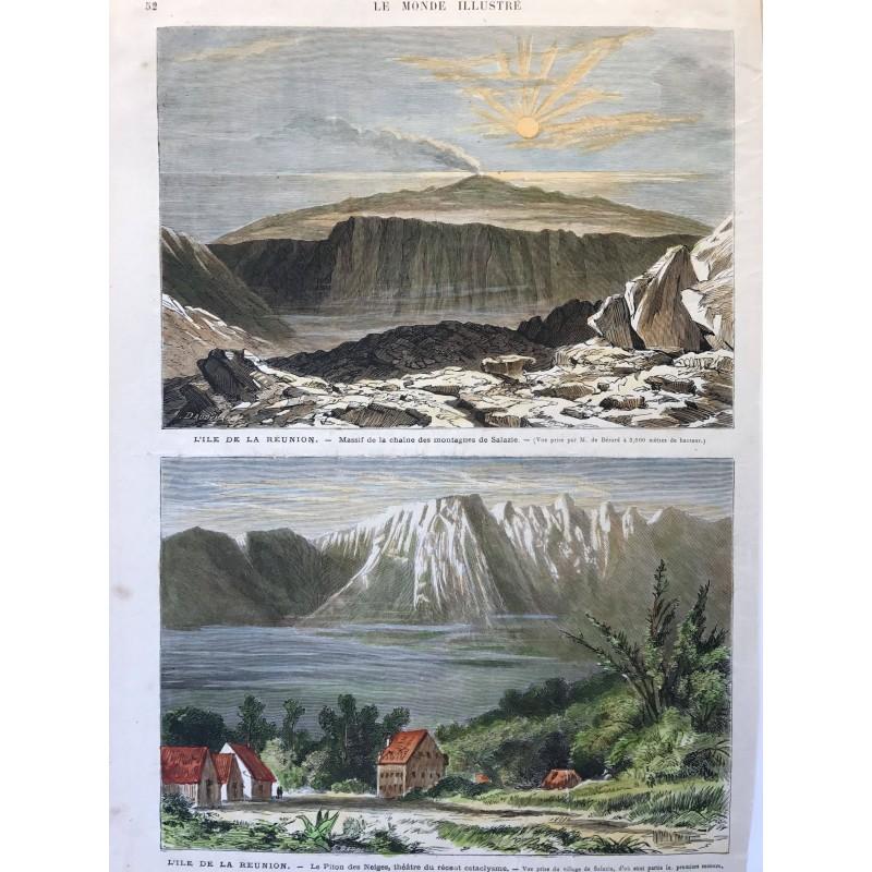 l'ile de la Reunion, Salazie, Piton des neiges
