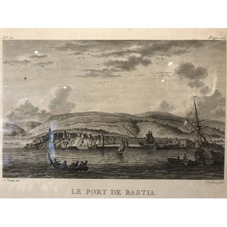 Le port de Bastia, Nicolas Ozanne