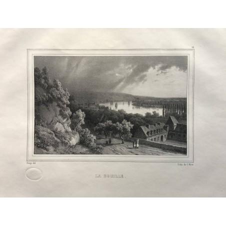 Les rives de la Seine, Deroy, 1831,