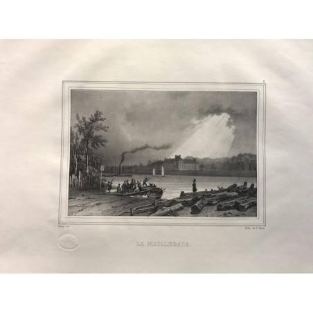 Les rives de la Seine, Deroy, 1831, La Mailleraie