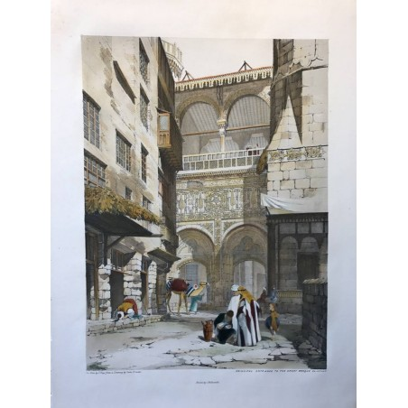 Principal entrance to the great mosque El-Azhar