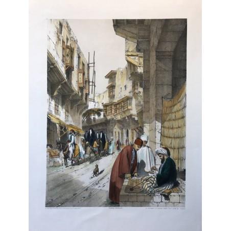A street in cairo near the Bab El-Khark