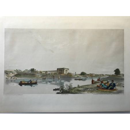 The aqueduc of Cairo and  part of Masr-el-atee kah