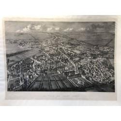 La ville de Saint Denis en 1863 , J Devicque