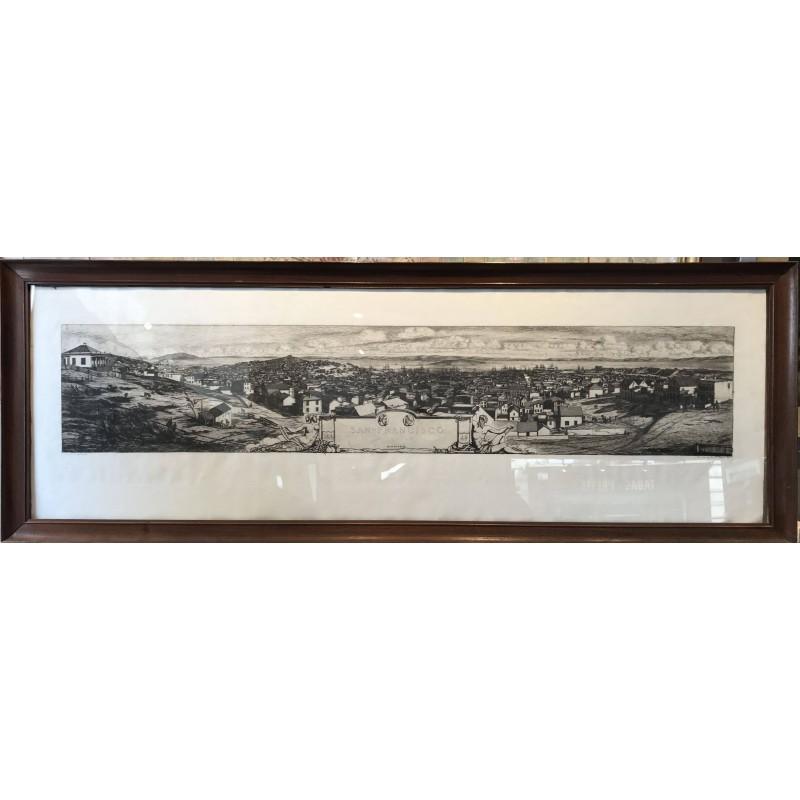 San Fransisco 1856, Charles Meryon