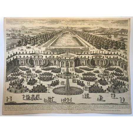 L' Orangerie et le grand parc de  Versailles
