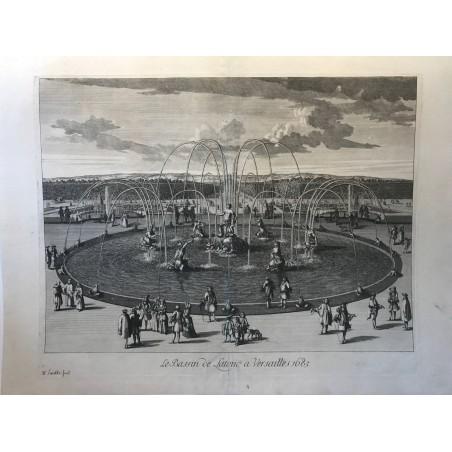 Versailles, Le bassin de Latone, 1685