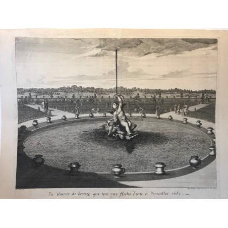Un amour de bronze qui tire une flèche, Versailles 1685