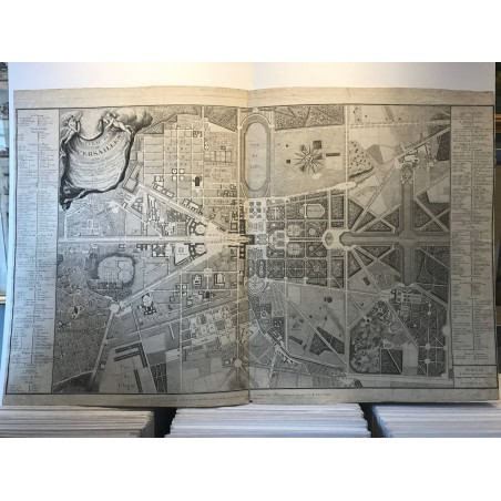 Nouveau plan de Versailles, 1787
