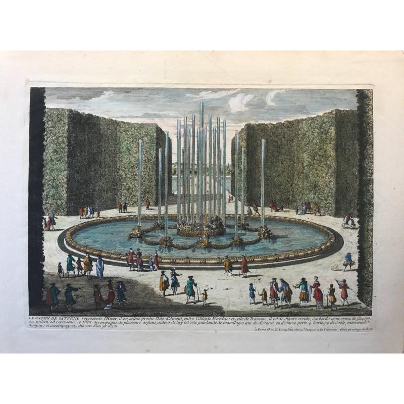 Gabriel Perelle 1604-1677, Le bassin de Saturne
