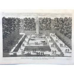 Gabriel Perelle 1604-1677, Vue et perspective de la gerbe d' eau duTtrianon de Versailles