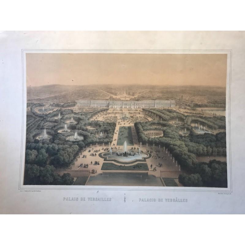 Palais de Versailles, Turgis, 1860