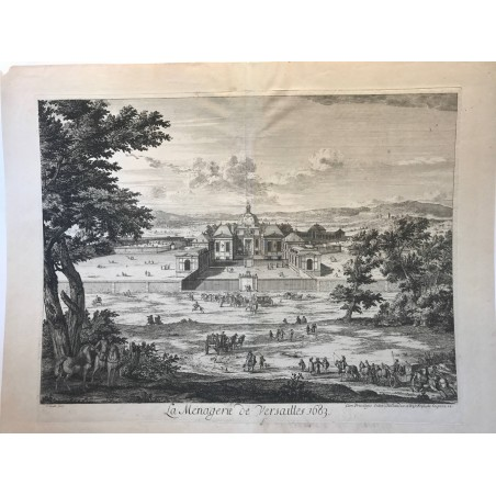 La ménagerie de Versailles, 1683