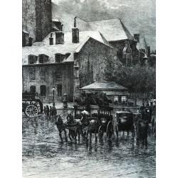 Eglise Saint Germain des Prés, Lucien Gautier 1899