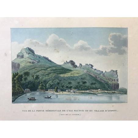 Voyage autour du monde, DUPERREY, 1826