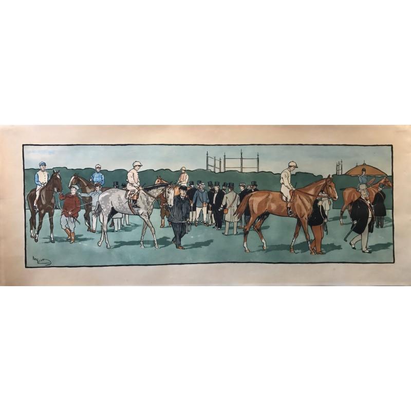 Harry Eliott, frise décorative, la rentrée, 1912