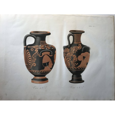 Collection des vases Grecs du Comte de Lamberg, 1813