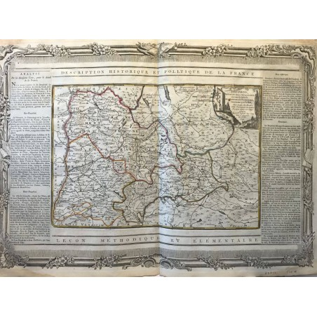 BRION et DESNOS, 1790, description historique et politique de la FRANCE