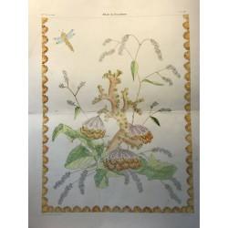 Album du Dessinateur, Lithographie de Henry STORCK à Lyon
