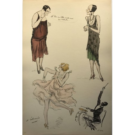 SEM, White bottoms 1927