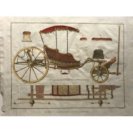 Sellier-Carossier, Encyclopedie diderot D'alembert, 1770