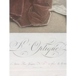 L'Optique, Léopold BOILLY, gravé par CAZENAVE