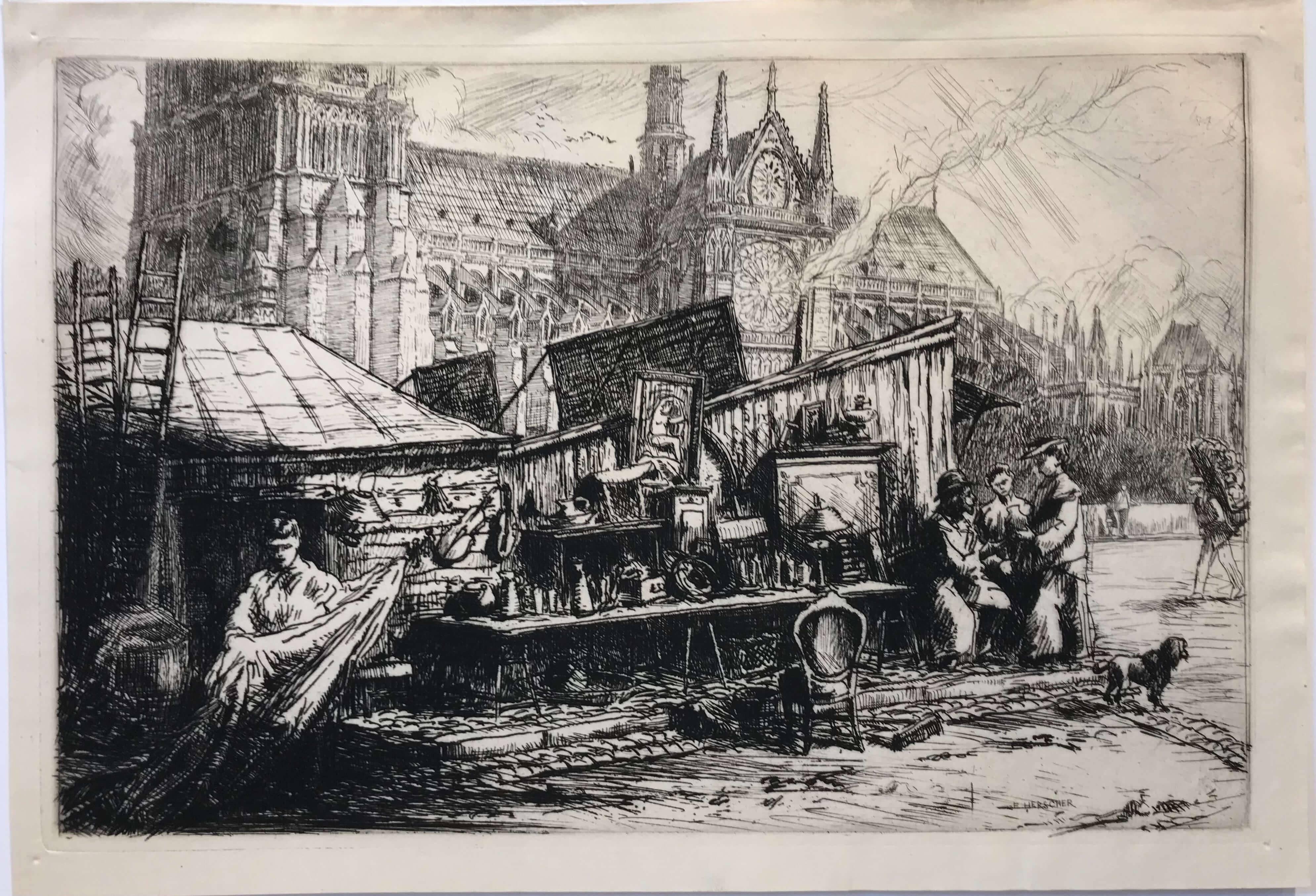 Souvenirs du Paris d'hier, E. HERSCHER 1912