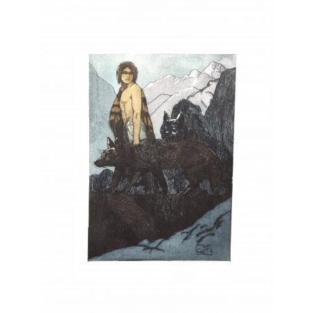 Maurice de Beque, le livre de la jungle, Kipling 1925