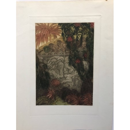 Maurice de Beque, le livre de la jungle, Kipling 1925