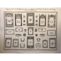 Collection des gravures polytypées, de la fonderie de Laurens et de Berry