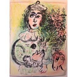Marc CHAGALL, lithographie originale