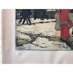Pierre GATIER, suite des quatre saisons, l' hiver
