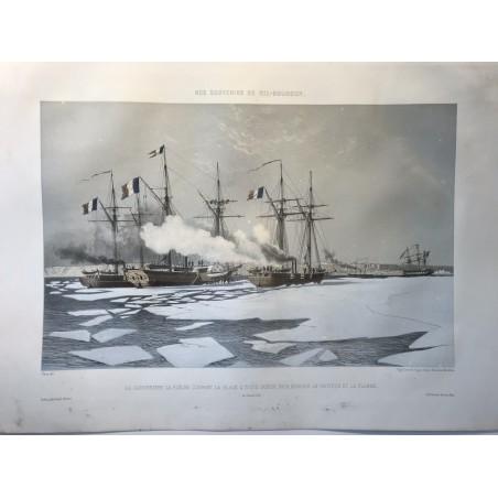 Nos souvenirs de Kil-Bouroun, lithographies de Bayot, Cicéri et Morel Fatio, 1855-1856