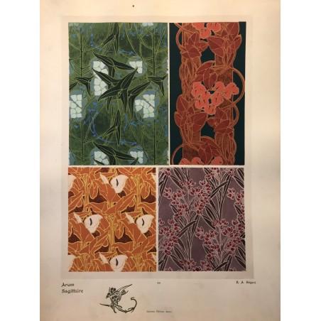 E.A SEGUY, les fleurs et leurs applications décoratives, A Calavas éditeur, Paris 1902